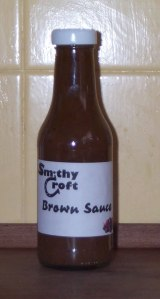 The fruity brown sauce